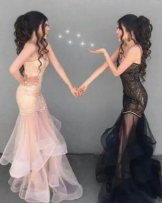 Custom Made Luxurious Black Mermaid Prom Dresses, Black Prom Dresses, Mermaid Prom Dresses, Prom Dresses 2019 Straps Prom Dresses, Prom Dresses 2018, Black Prom Dresses, Tulle Prom Dress, Mermaid Prom Dresses, Evening Dresses, Dress Black, Prom Gowns, Dress Straps