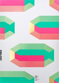 "BIHAKU WATANABE CO.,LTD. ""CRAFTMEN"" #foilstamping #screenprint #typography #graphic #pattern #poster #design"