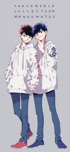 Osomatsu-san Osomatsu & Karamatsu