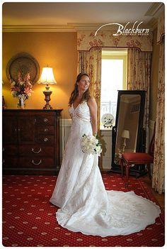Lake George Club Wedding Photo Image by Susan Blackburn Copyright Blackburn Portrait Design susanblackburn.biz #lakegeorgephotographer #weddingphotos #rainydayweddingphotos Bridal Portrait The Inn at Erlowest
