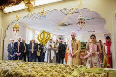 Kiran + Sam's Sikh Wedding Ceremony