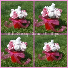 Baby Sock Roses Bouquet By Littlesassydivas On Etsy My Little