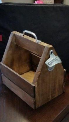 DIY Beer Tote Plans | Free DIY Plans | rogueengineer.com #DIYBeerTote  #ManCaveDIYPlans