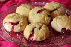 Raspberry Morning Pie Cookies