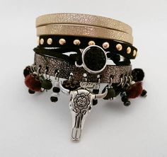 Bekijk dit items in mijn Etsy shop https://www.etsy.com/nl/listing/579299151/stoere-buffalo-armband