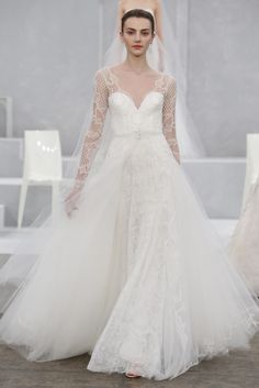 Monique Lhuillier Bridal Spring 2015 - Slideshow - Runway, Fashion Week, Fashion Shows, Reviews and Fashion Images - WWD.com