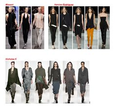 My favorite looks fall-winter 2013 - 2014 *** Look preferiti sfilate Autunno- Inverno 2013 -2014 Missoni, Narciso Rodriguez, Nicholas K