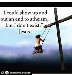 #Repost @conscious_awaken with @repostapp ・・・  . . .  #atheist #agnostic…