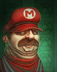 Mario by ~sacking-jimmy on deviantART