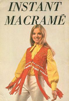 Macrame vest - yep everyone had one!