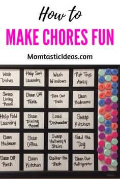 Would you like to teach your kids some responsibility while also making chores fun for everyone? Learn what I use to get my kids to help with the chores! Mindful Parenting, Parenting Teens, Parenting Advice, Parenting Classes, Foster Parenting, Working Mom Tips, Quotes About Motherhood, Thing 1, Chores For Kids