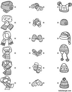 winter coloring page for kids free winter coloring math preschool Christmas Activities For Toddlers, Math For Kids, Winter Activities, Toddler Activities, Thema Winter Im Kindergarten, Kindergarten Activities, Dots Game, French Language Lessons, Preschool Colors