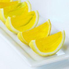 Lemon Drop Jell-O Shots Recipe on Yummly