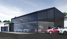 New car showroom project
