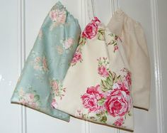 Handmade Homewares – Drawstring bag tutorial  love this for shoes since I always carry an extra pair!