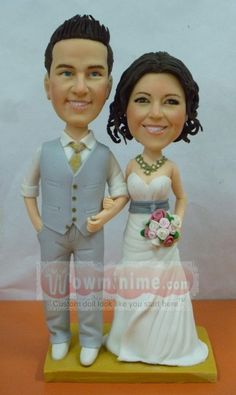 100 Fully Customized Cake Toppers by WowMiniMe on Etsy. , via Etsy.