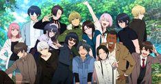 Anime Oc, Kawaii Anime, Manga Anime, Girls Anime, Anime Art Girl, Anime Group Of Friends, Kuzu No Honkai Manga, Drawing Couple Poses, Poses Manga