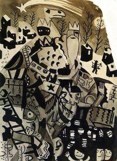 Late Night Dreams - Salvador Dali (1923)