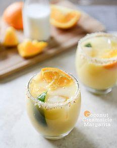coconut orange margarita