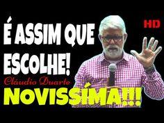Video Gospel, Claudio Duarte, Lair Ribeiro, Youtube, Movie Posters, Movies, Study, Pastor, Films