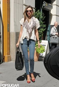 Miranda Kerr and Orlando Bloom in NYC Pictures