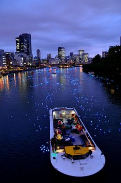 """Sky River Legend"" project 2014 - Osaka, Japan (Osaka天の川伝説2014, photo by Maru1122 on Flickr)"