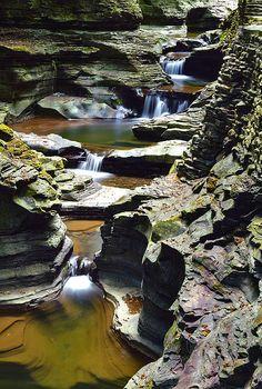 ✮ Waterfall - Watkins Glen, NY