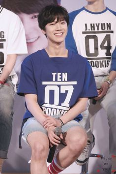 I wonder why Ten's jersey is the only one with a square neck? Beijing China, Winwin, Ten Smrookies, Taeyong, Jaehyun, Nct 127, Thai Prince, Nct U Members, Ten Chittaphon
