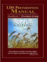 Free Download: LDS Preparedness Manual (version 8)  >  WOW!   This manual is quite thorough and even overwhelming. Read in bites, ponder, and do what is right for you and yours.