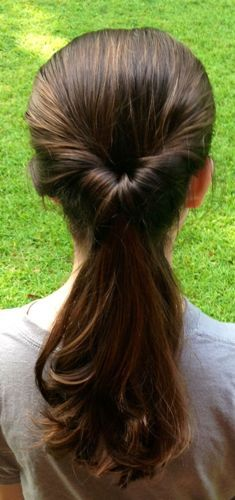 Inside Out Pony Daily Hairstyles for Long Hair