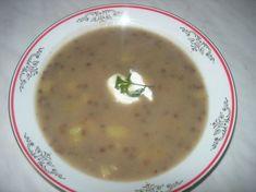 Fotorecept: Babkina šošovicová polievka
