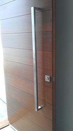 Matte Black Entry Pull Set - 1.2m long - ideal for pivot doors ...
