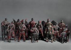 Voodooh beelden uit Haiti @ Afrika Museum NL #collectievisse #eng (scary)