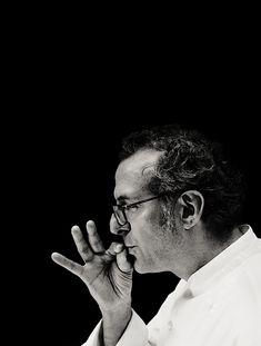 Massimo Bottura by Per-Anders Jörgensen, from Eating with the Chefs