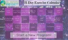 Soon I will be starting my Ultimate Reset journey! Since starting my fitness journey, I have not gone very long without exercising--it pretty much drives me crazy if I don't workout! I have been researching this 21 day cleanse, and I decided to make a low impact exercise calendar for the next 3 weeks I will be cleansing! CLICK the pin to read all about it!! #ultimatereset #ultimateresetworkouts #cleanse #plantbaseddiet #vegan