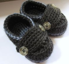 Little Button Loafers. Perfect little accessory for any baby boys wardrobe. Has a doubled insole so it's soft and cozy. shoe is made from 100%