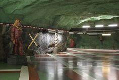 Curious Places: Stockholm Metro (Stockholm/ Sweden)