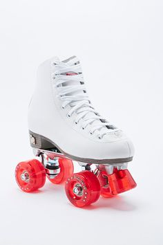Rookie Classic Roller Skates in White