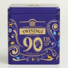 One of my favorite discoveries at WorldMarket.com: Twinings Queen Elizabeth II Loose Leaf Tea Tin