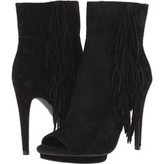 LOVE my new fringe booties!!!