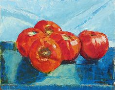 The Ultomato by Connie Miller Oil ~ 16 x 20
