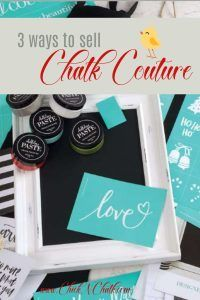 3 Exciting Ways to Sell Chalk Couture in Canada 2