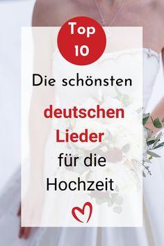 Ihr sucht nach besonderen Liedern auf Deutsch für eure Hochzeit? Ich zeige dir die Top 10 der schönsten deutschen Hochzeitssongs, die nicht jeder hat und kennt. #hochzeit #hochzeitslied