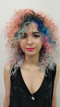 Ruben Vargas   2014 Show us Your VIVIDS Contest   #pravana #pravanavivids #showusyourvivids #pravananeons #nevo #neonpinkhair #neonbluehair #neonorangehair #bluehair #coralhair #pinkhair #tealhair #minthair