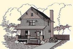 Craftsman Exterior - Front Elevation Plan #79-273 - Houseplans.com