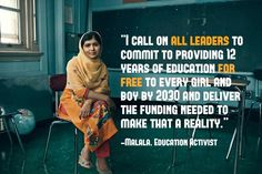 18/5/2015. Malala what an amazing young woman even a bullet in her head did not stop her. Well done to her.