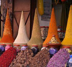 marrakesh markets  via Flickr