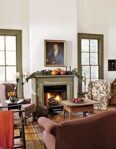 Early American Colonial Interiors | Design, Decor...1894 Texas Colonial