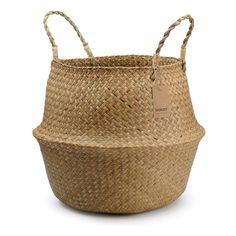 Best Artificial Bamboo Plants (perfect for outdoor privacy screens!) | Posh Pennies Indoor Flower Pots, Indoor Planters, Seagrass Storage Baskets, Wicker Baskets, Towel Basket, Grocery Basket, Blanket Basket, Belly Basket, Basket Planters