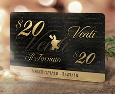 Give the gift of Italian hospitality this year! Buy $100 worth of #IlFornaio Gift Cards and receive a $20 Complimenti Card. Get started on your holiday shopping today: http://bit.ly/ilfoGC  #Gifting #ItalianHolidays